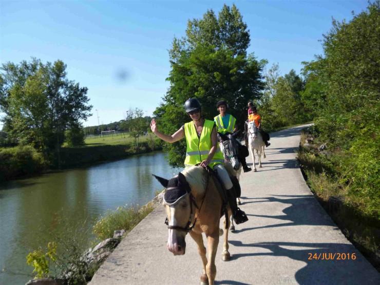balade a cheval a toulouse ALERT Association de Loisirs Équestres en Région Toulousaine