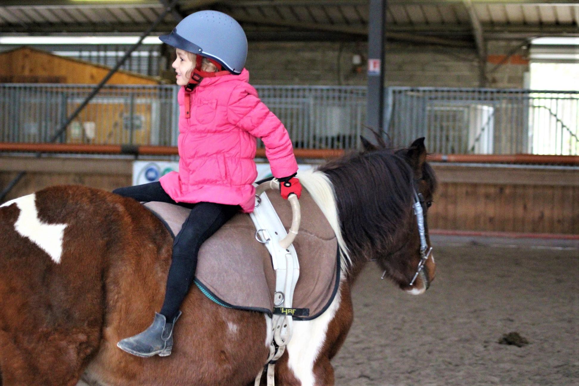 enfant a poney toulouse ALERT Association de Loisirs Équestres en région Toulousaine